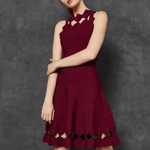New Ted Baker Cherina bow detail dress